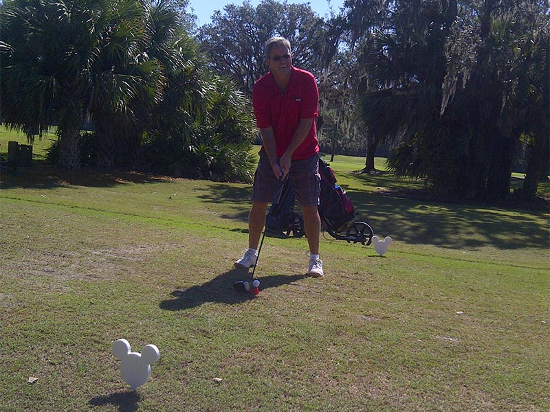Birtees at the Disney Golf Course