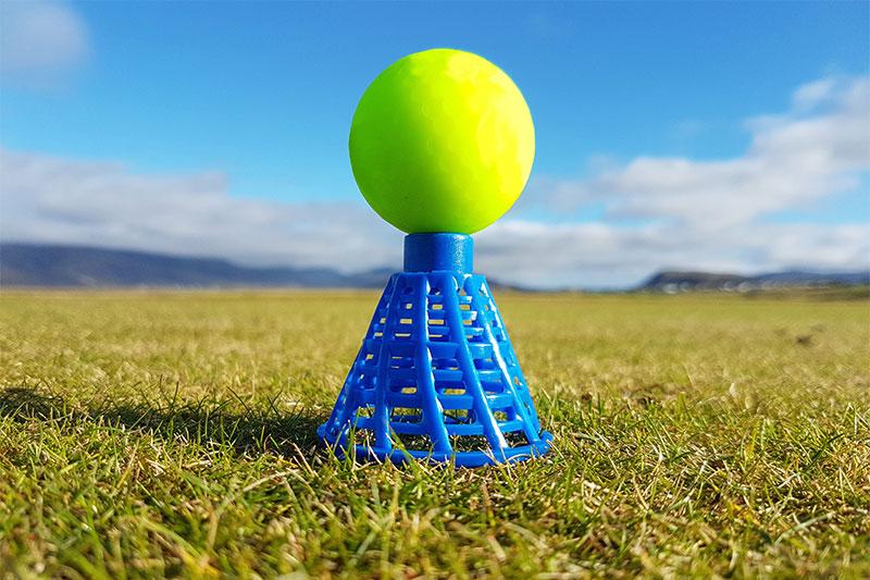 Iceland golf tee